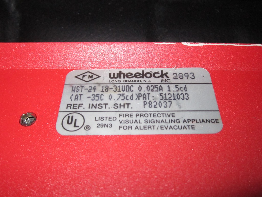 Wheelock_WST-24_Label